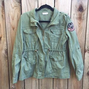 Cali Love Military army utility style jacket